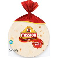 Mission Super Soft Fajita Flour Tortillas