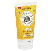 Burt's Bees Baby Bee Cream-to-Powder 2-in-1 Diaper Cream & Baby Powder