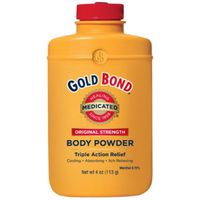 Gold Bond Baby Powder, Original Strength, Triple Action Relief