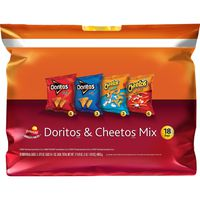 Frito Lay's Doritos Cheetos Mix Snacks