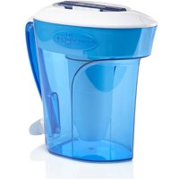 ZeroWater® 12 Cup Ready-Pour® Filtered Pour-Through Water Pitcher
