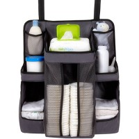 Dexbaby Diaper Caddy and Nursery Organizer for Baby's Essentials - Gray