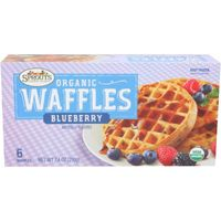 Sprouts Organic Blueberry Waffles