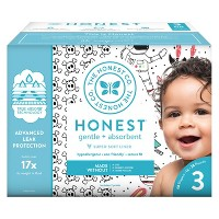 The Honest Company Disposable Diapers Size 3 - (Select Pattern)