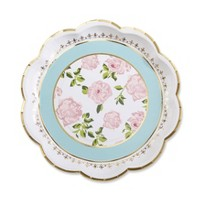 24ct Tea Time Whimsy Paper Plates