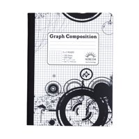 "Norcom Graph Composition Book, 5"" x 5"", 100 sheets"