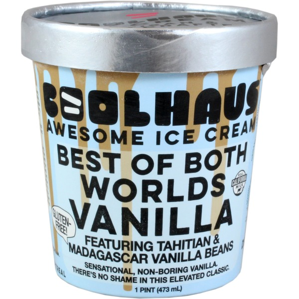 Coolhaus Ice Cream, Awesome, Best of Both Worlds Vanilla