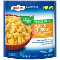 Birds Eye Veggie Made Frozen Cheddar Mac & Cheese - 10oz