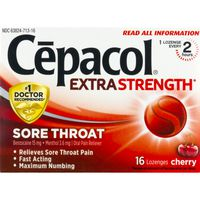 Cepacol® Maximum Strength Throat Drop Lozenges, Cherry