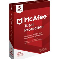 McAfee Total Protection 5 Device Antivirus Software
