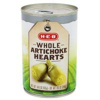 H-E-B Whole Artichoke Hearts