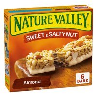 Nature Valley Granola Bars Sweet and Salty Nut Almond 6 Bars - 1.2 oz