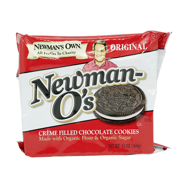 Newman's Own Original Creme Filled Chocolate Cookies, 13 oz