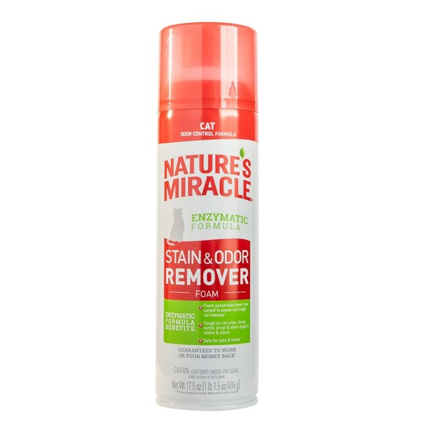 Nature's Miracle Cat Stain & Odor Aerosol - 17.5oz