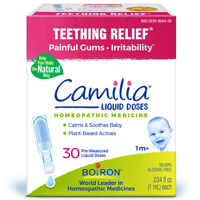 Boiron Camilia Teething and Oral Pain Relief, 30 Doses
