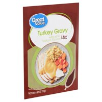 Great Value Turkey Gravy Mix, 0.87 oz