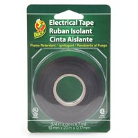 Duck Brand All Purpose Electrical Tape, 0.75' x 66', Black