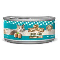 Merrick Purrfect Bistro Grain Free Duck Pate All Life Stages Natural Food For Cats