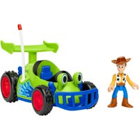 Imaginext Disney Pixar Toy Story Woody Figure & RC Vehicle Set