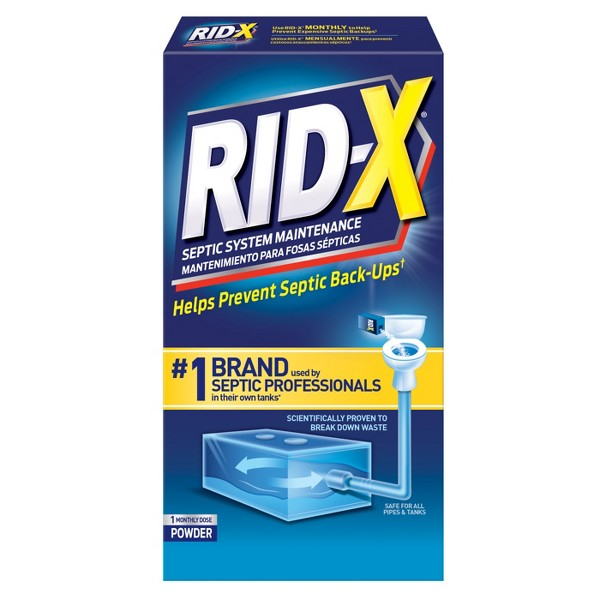 RID-X Septic System Treatment and Maintenance - 9.8oz