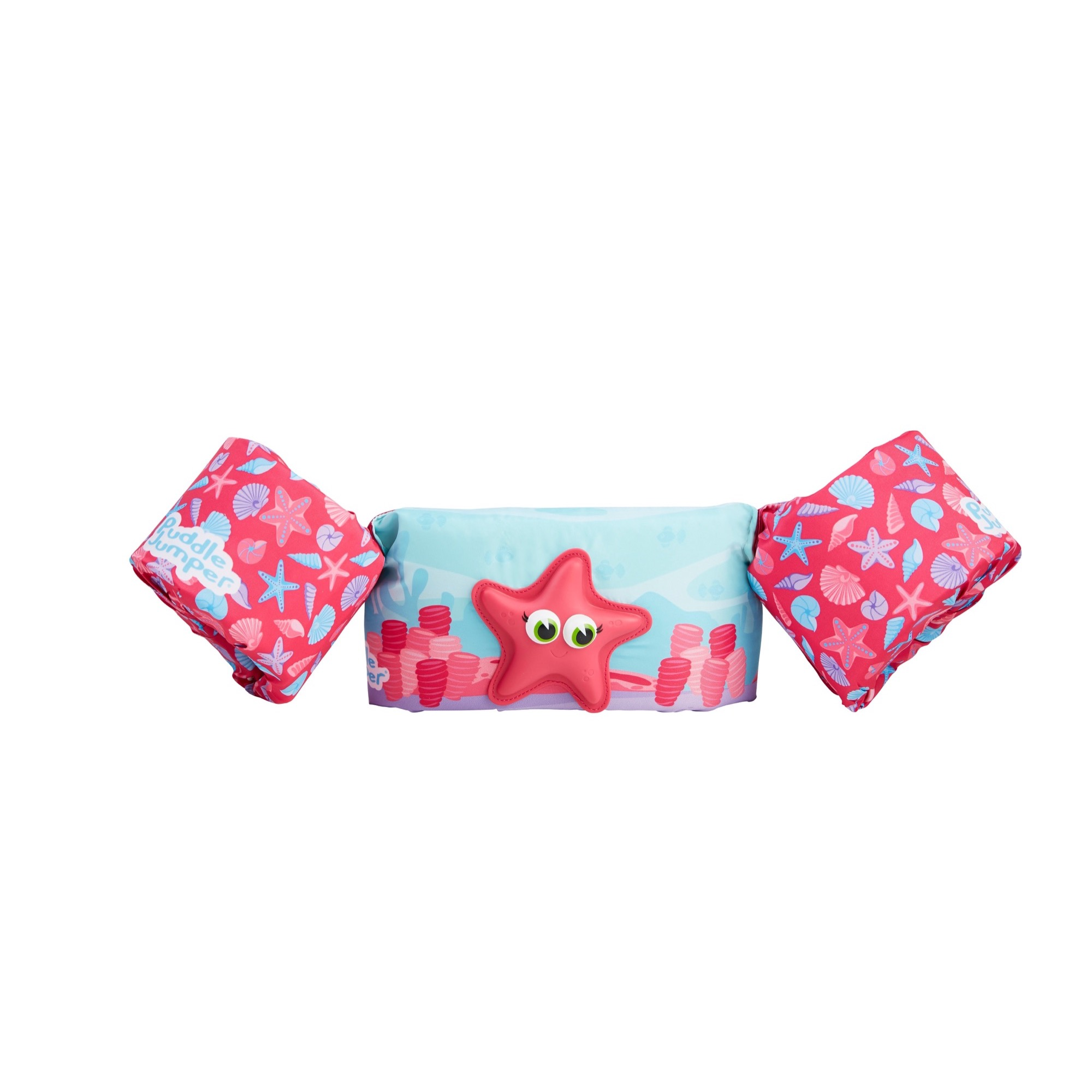 Puddle Jumper Kids Deluxe Life Vest with 3D Character for Children 30-50 Pounds, Starfish