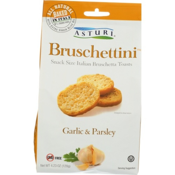 Asturi Bruschettini, Garlic & Parsley