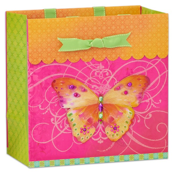 Butterfly Large Gift Bag - PAPYRUS