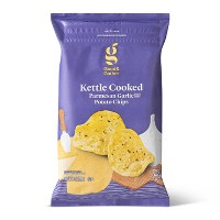 Parmesan Garlic Kettle Chips - 8oz - Good & Gather™