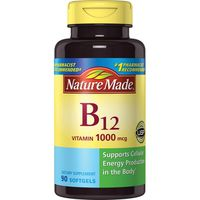 Nature Made Vitamin B12 1000 mcg Softgels