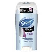 Secret Outlast With Olay Protecting Powder Smooth Solid Antiperspirant and Deodorant - 2.6oz