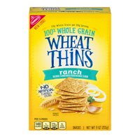 Nabisco Ranch Wheat Thins Snacks, 9 Oz.