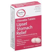 Signature Upset Stomach Relief, Chewable Tablets
