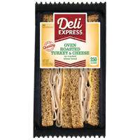 Deli Express Oven Roasted Turkey and Cheese Sandwich