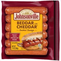 Johnsonville Beddar with Cheddar Smoked Sausage - 6ct/14oz