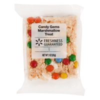 Freshness Guaranteed Candy Gems Marshmallow Treat, 3 oz