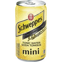 SCHWEPPES TONIC WATER 7.5OZ 6PK CAN