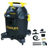 Stanley 10 Gallon, 6.0 Peak Horse Power Wet/Dry Poly Vacuum
