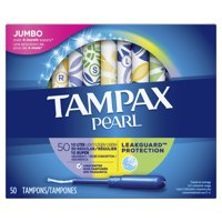 Tampax Pearl, Plastic Tampons, Triple Pack (Light/Regular/Super Absorbency), Unscented