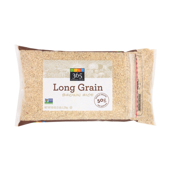365 Everyday Value® Long Grain Brown Rice, 80 oz