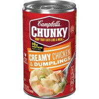 Campbell's Chunky Soup, Creamy Chicken & Dumplings Soup, 18.8 Ounce Can