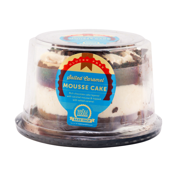 Whole foods market™ Salted Caramel Mousse Cake, 22 oz