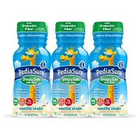 PediaSure Grow & Gain Kid's Nutritional Shake with Fiber - Vanilla - 48 fl oz Total