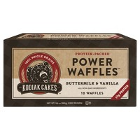 Kodiak Cakes Buttermilk & Vanilla Protein Packed Frozen Power Waffles - 13.4oz