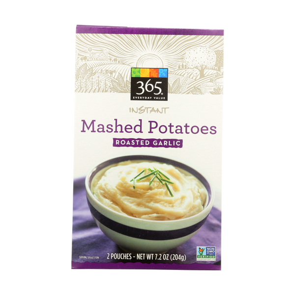365 everyday value® Mashed Potatoes, Garlic Instant, 2 Pouch