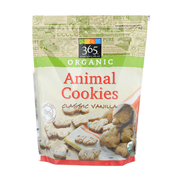 365 everyday value® Cookies, Animal Crackers, 16 oz