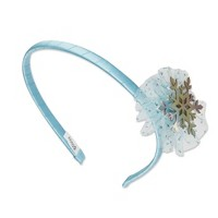 Scunci Frozen 2 Fabric Headband with Snowflake and Tulle