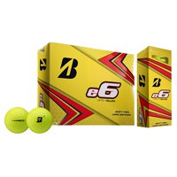 Bridgestone e6 Golf Balls, Yellow, 12 Pack