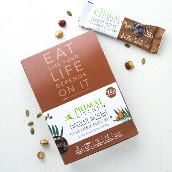 Primal Kitchen Nut & Seed Protein Bar - Chocolate Hazelnut - 12ct