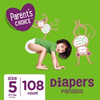 Parent's Choice Diapers, Size 5, 108 Diapers