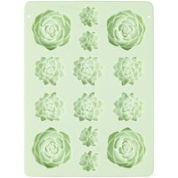 Wilton Succulents Silicone Candy Mold, 14-Cavity
